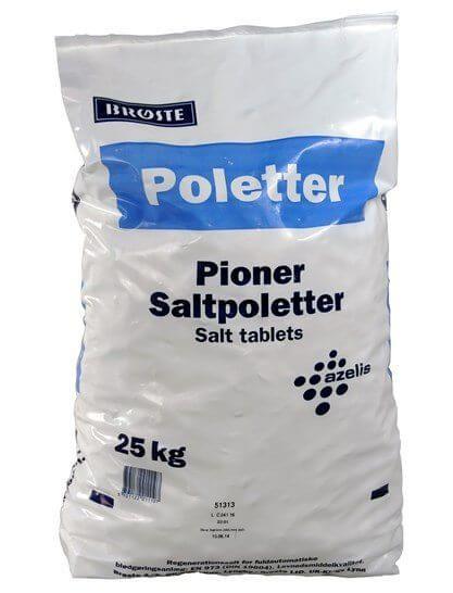 SALTTABLETTER 25 KG