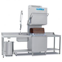 Inustriopvasker XL til 60x40 bakker, Electtrobar Mistral 94x NRG m/ varmegenindvinding